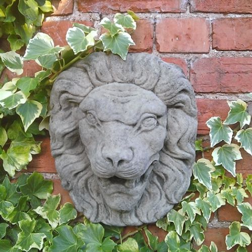 Large Lion Head Wall Water Spout