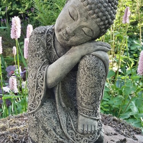 SLEEPING LOTUS BUDDHA