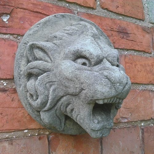 Gargoyle Wall Water Feature Spout