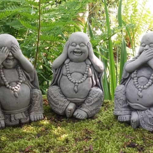 SET OF 3 WISE BUDDHAS